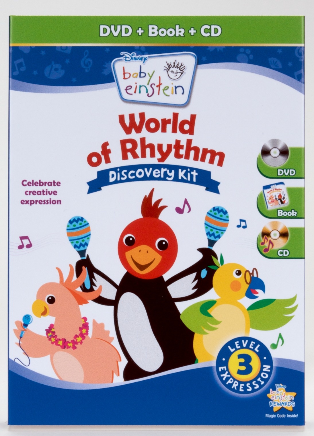 Baby Einstein World Of Rhythm Discovery Kit