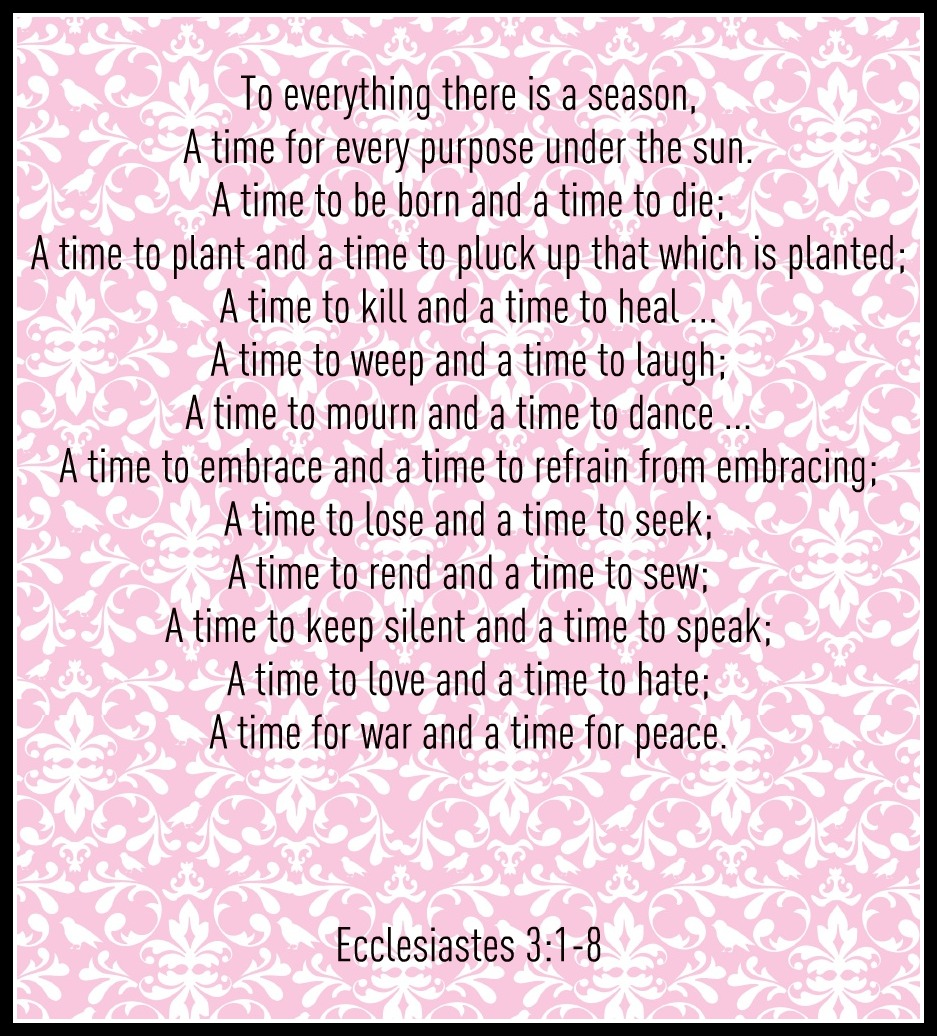 ecclesiastes 3 1 coloring pages - photo#14