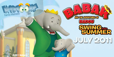 Giveaway: Babar & The Adventures of Badou!