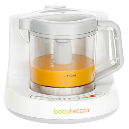 Review Party: Baby Brezza One Step Baby Food Maker!