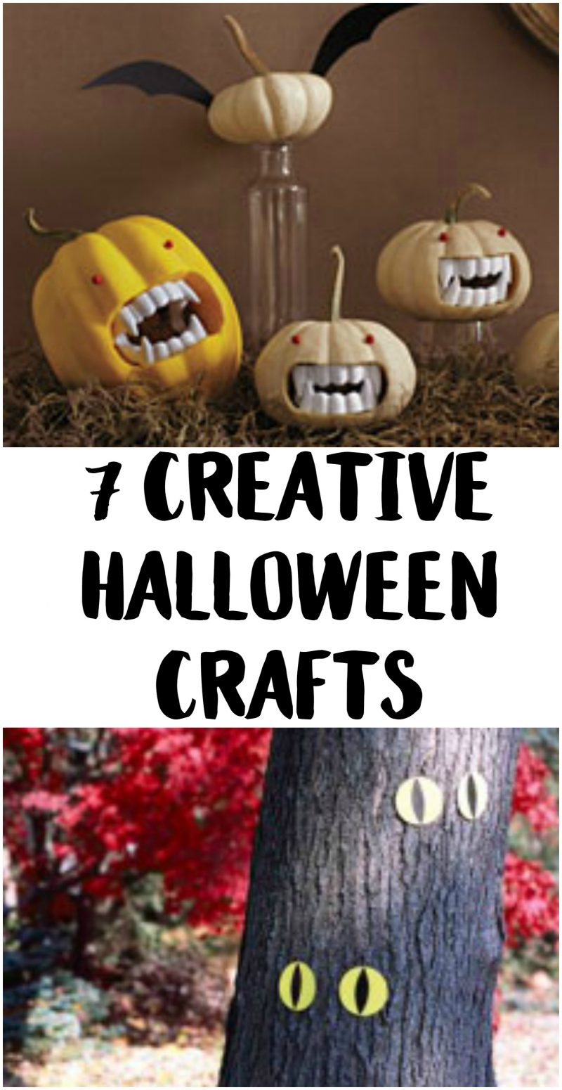 Halloween crafts aren't just for kids! These DIY decorations ideas are for adults- but still easy enough to let your kids help, too! They're creative {there's more than just pumpkin decorating} and the perfect way to celebrate the spookiest holiday of fall!