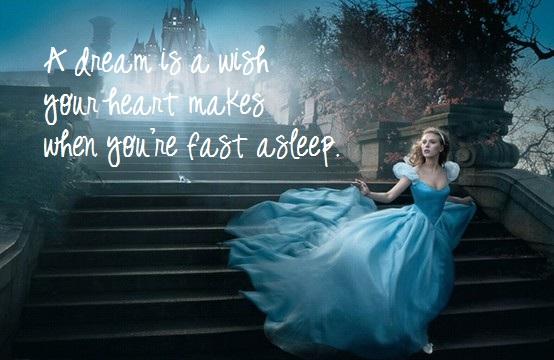 My Favorite Disney Quotes- Cinderella
