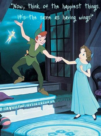 My Favorite Disney Quotes- Peter Pan