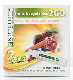 Fruits & Veggies 2GO Twist Tubes Review & Giveaway #AmwayNutrilite