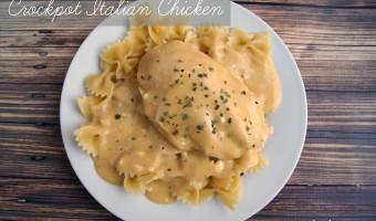 Fun with Food Friday: Crockpot Italian Chicken