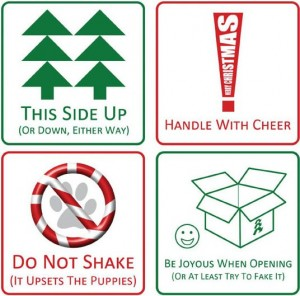 funny holiday gift tags