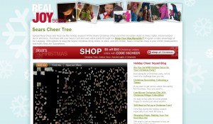 sears cheer tree site