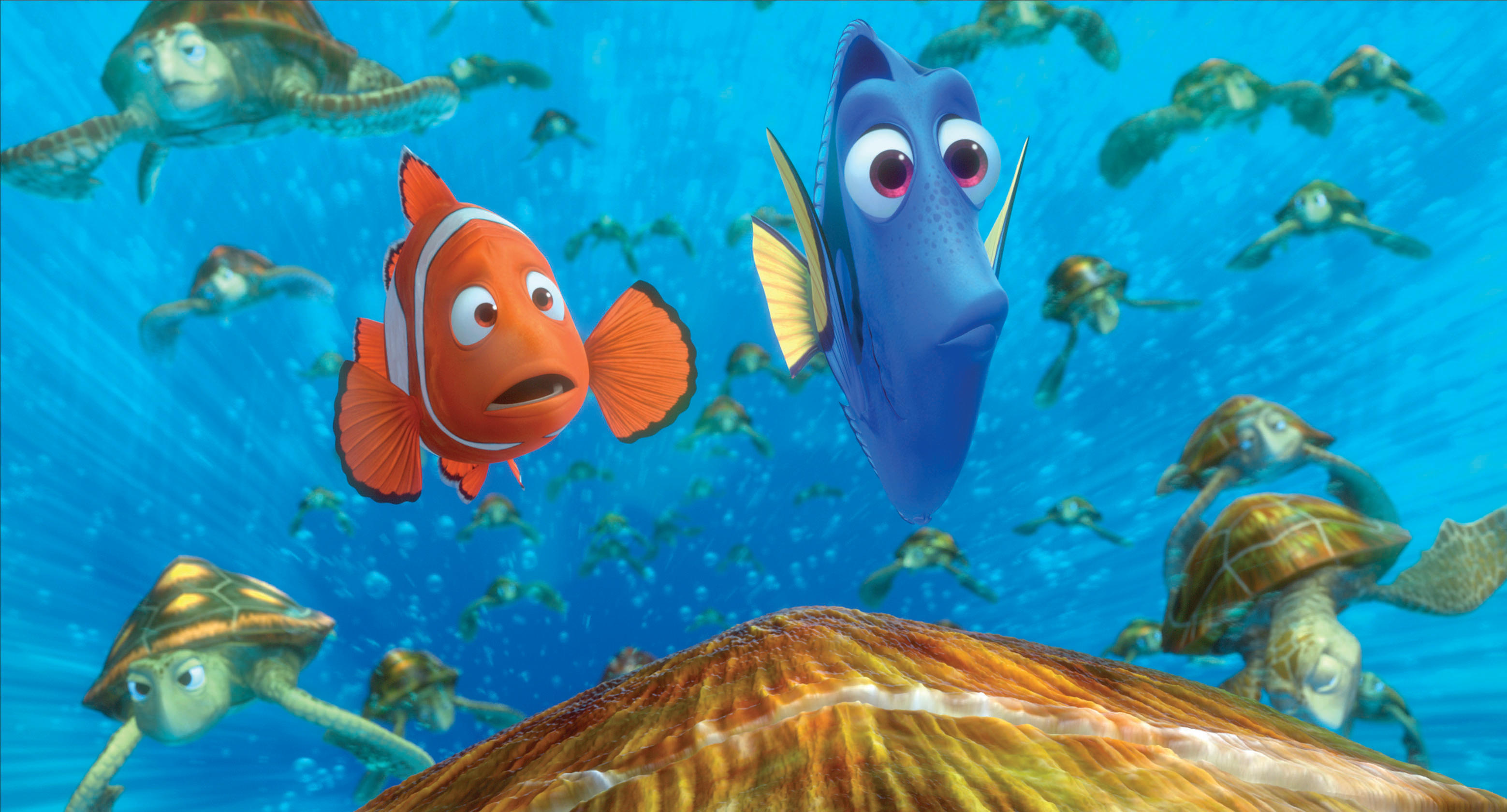 Finding Nemo 3D is Swimming Into Theaters!