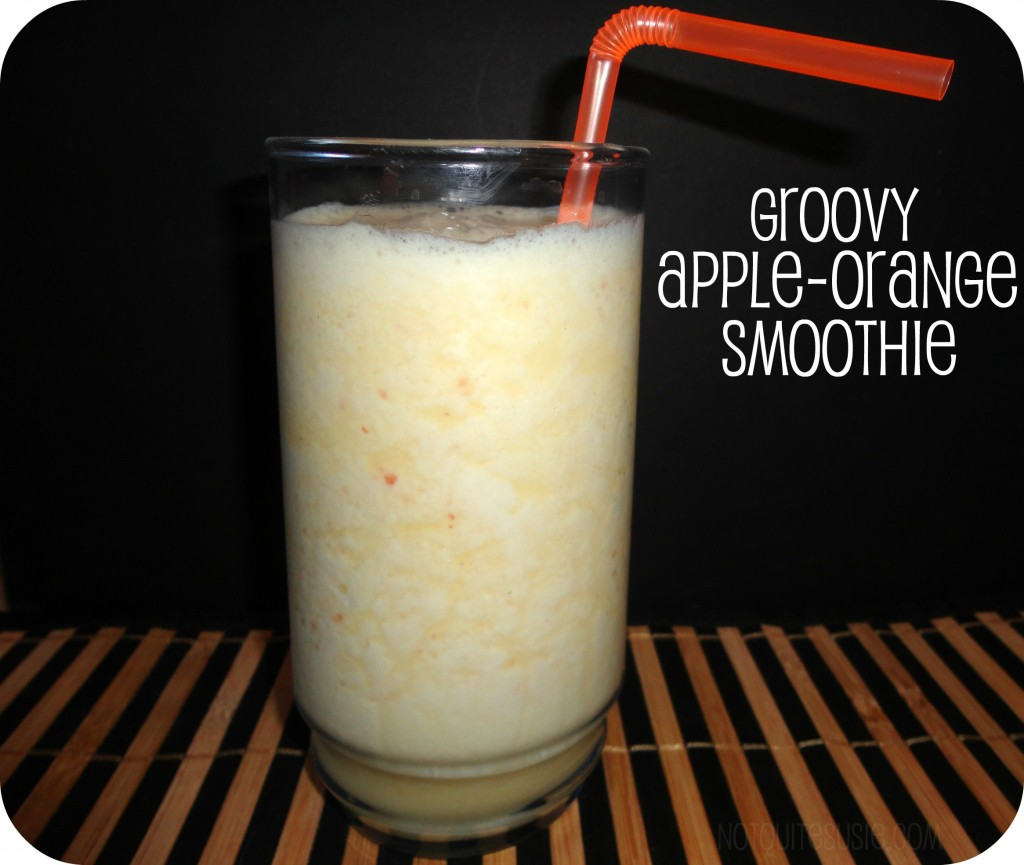 groovy apple-orange smoothie