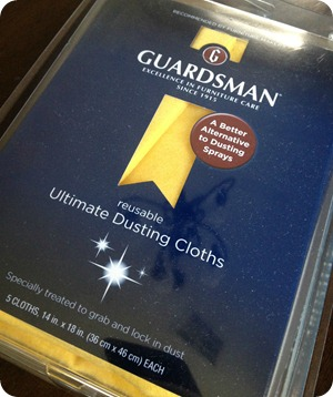 guardsman dusting cloths