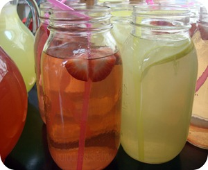 lemonade mason jars
