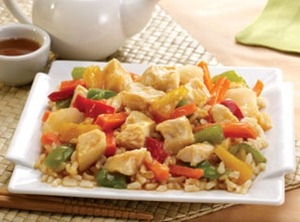 Nutrisystem Sweet and Sour Chicken