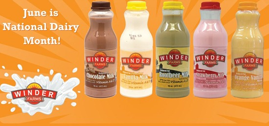 Get Your FREE Milk from Winder Farms!
