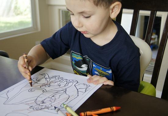 Preschool Coloring