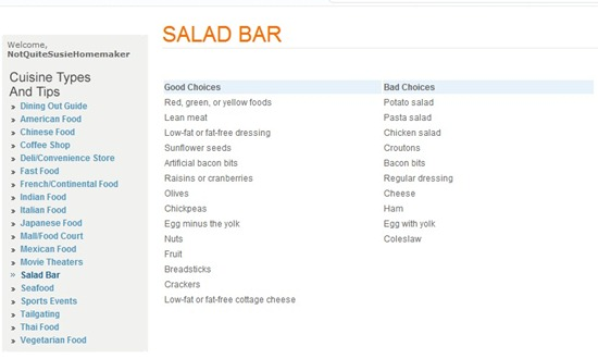 Salad Bar