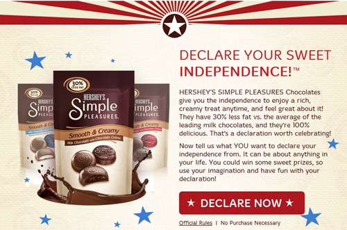 Declare Independence Tab
