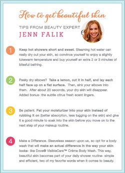 Jenn Falik Beauty Tips