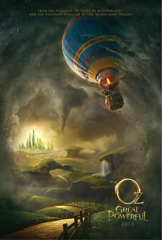 Oz The Great and Powerful Coming March 8, 2013!