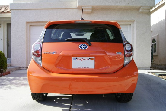 Prius c back