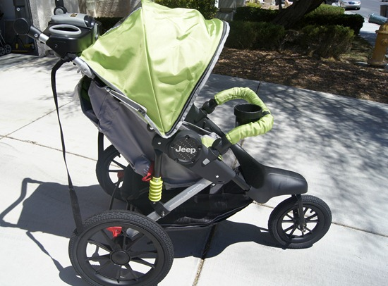 J is for Jeep Jogging Stroller profile
