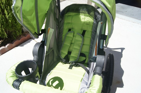 J is for Jeep Jogging Stroller seat
