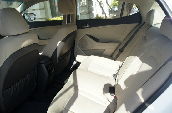 Kia Optima Hybrid Interior