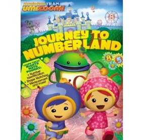 journey to numberland dvd cover