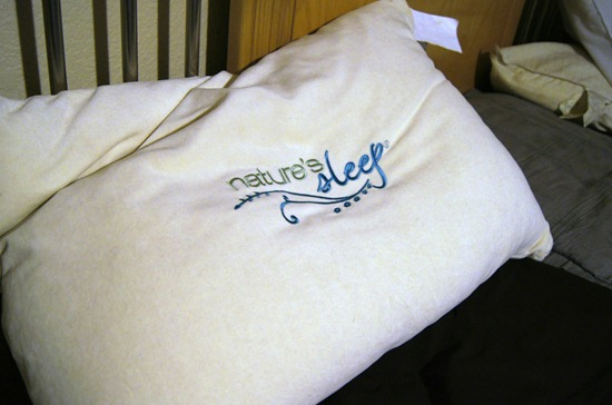 Nature's Sleep Pillow Review