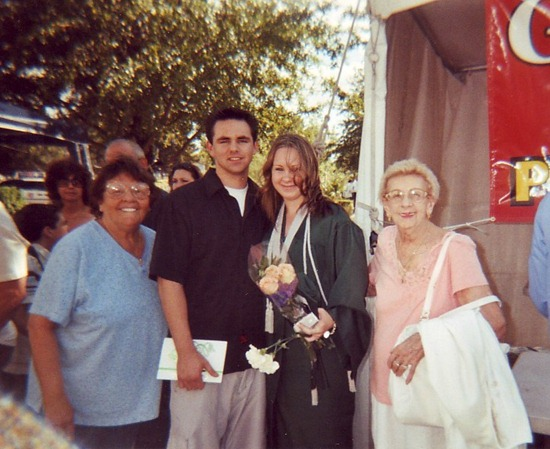 aunt grandma graduate