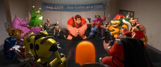 &quot;WRECK-IT RALPH&quot;   (Pictured) RALPH (voice of John C. Reilly) amongst other video game bad guys.  2012 Disney. All Rights Reserved.