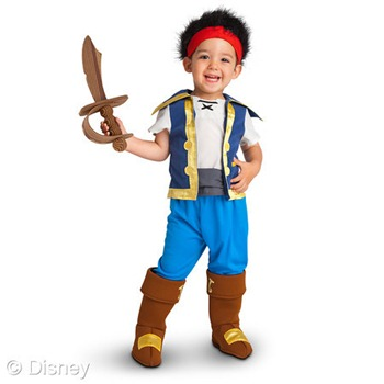 jake and the neverland pirates costume halloween