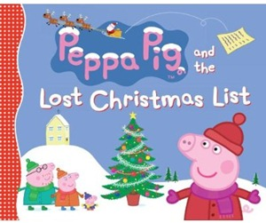 peppa pig lost christmas list