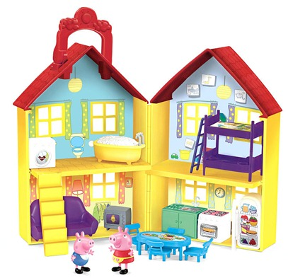 peppa pig playset