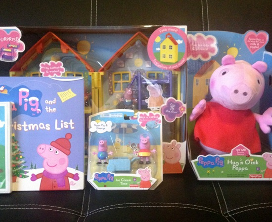 peppa pig toy assortment