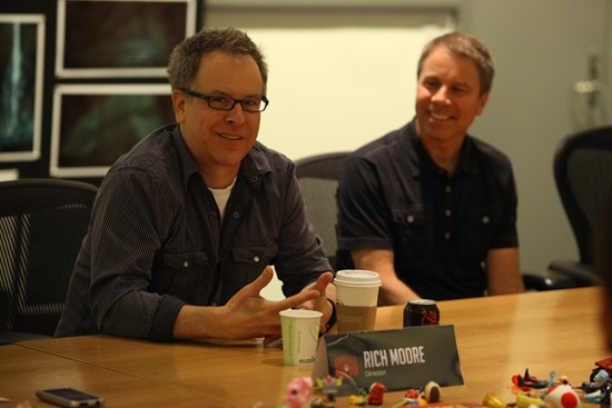 Interview with Director Rich Moore & Producer Clark Spencer of Wreck-It Ralph!