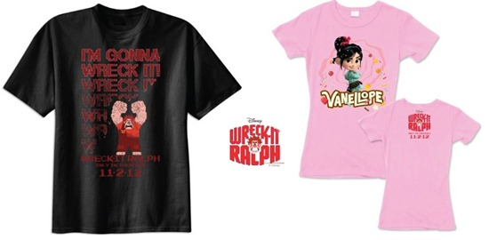 wreck it ralph tshirt giveaway
