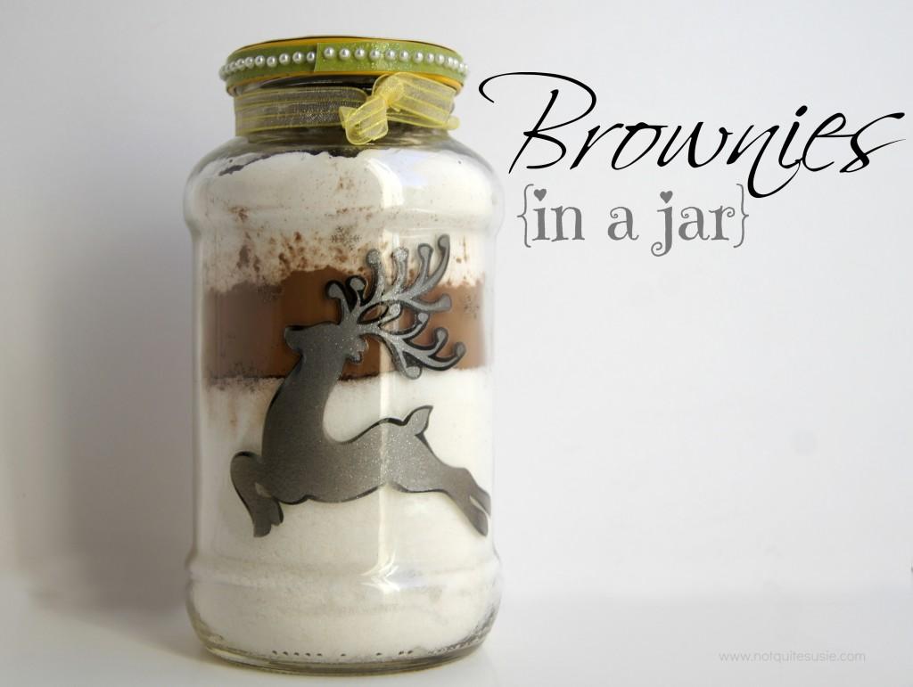 Brownies in a Jar Recipe
