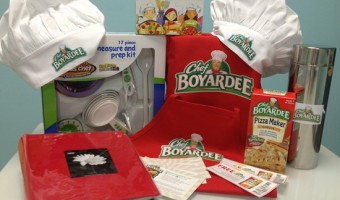 Get Your Kids in the Kitchen with the Chef Boyardee Little Chefs Cookbook {& Giveaway!}