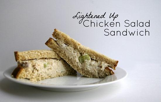 Recipe: Lightened Up Chicken Salad Sandwich