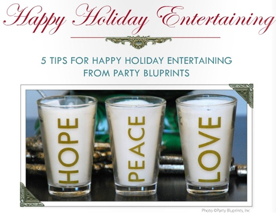 happy holiday entertaining