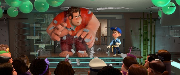 """WRECK-IT RALPH""   (L-R) RALPH and FELIX in the video game world of Fix-It Felix, Jr. ©2012 Disney. All Rights Reserved."