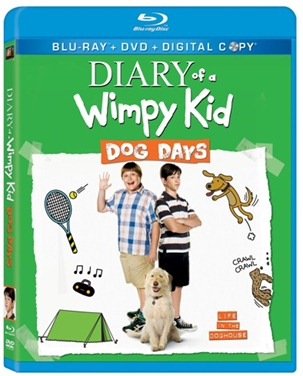 Diary of a Wimpy Kid Dog Days Blu-ray cover