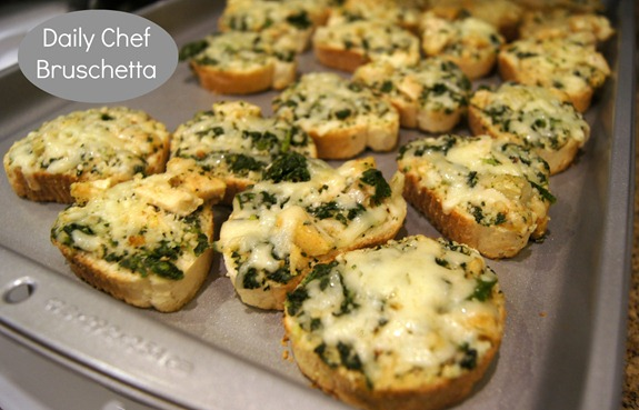 Daily Chef Bruschetta Appetizer