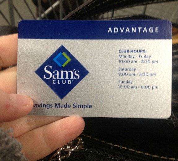 Sam&#39;s Club Membership Card