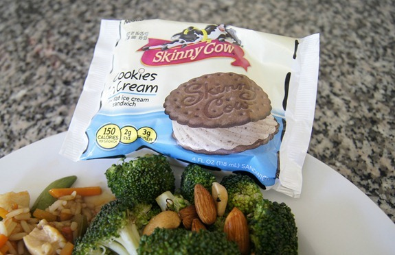 Skinny Cow Ice Cream Sandwich