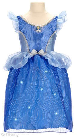 cinderella light up dress