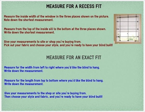 guest post how to measure your windows correctly for blinds not quite susie homemaker. Black Bedroom Furniture Sets. Home Design Ideas