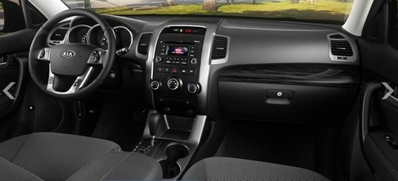 kia sorento interior