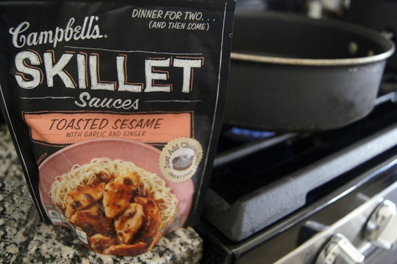 Easy Weeknight Meal - Campbell's Skillet Sauces