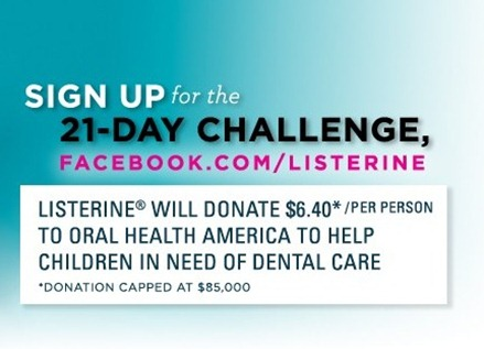 listerine challenge